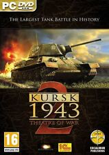 Theatre of war 2-koursk (pc dvd) nouveau & sealed