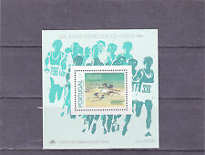 PORTUGAL S / S OLYMPIC GAMES LOS ANGELES   (1984)  MNH