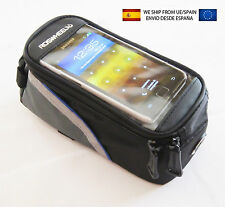 Bolsa funda bicicleta con apartado para movil iphone samsung galaxy s3 s4 bici