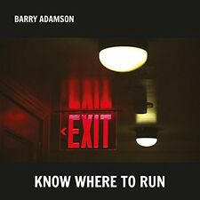 BARRY ADAMSON - KNOW WHERE TO RUN  CD NEU