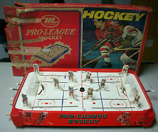 Pro-League Hockey Board Game 1975 Munro Games Vintage Chicago Blackhawks Vs. NY