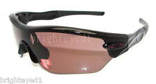 Authentic OAKLEY Radar Edge Polarized Black Sunglass OO9184-04 *NEW*