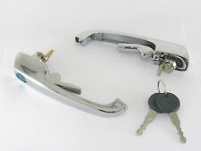 DOOR HANDLE SET OUTER WITH 2 KEYS FITS VOLKSWAGEN TYPE2 BUS 1969-1979