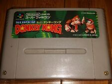 DONKEY KONG COUNTRY - nintendo super famicom snes import jp  USA SELLER