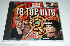 18 TOP HITS 5/95 CD MIT SMOKIE JIMMY SOMERVILLE REDNEX CORONA WHIGFIELD DJ BOBO