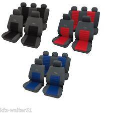 Para Peugeot 207 Funda De Asiento / Active Deportivo Rojo Azul Negro