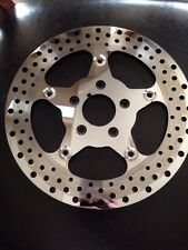 "ebc floating brake rotor 11.5"" disc front stainless harley fxr softail dyna xlh"