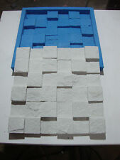 STONE SILICONE RTV MOLD FOR PLASTER OR CEMENT