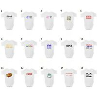 Funny Baby Grow / Vest / Sleepsuit - Boy Girl Babies Clothing, Ideal Baby Gifts