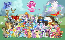 """02 My Little Pony Friendship is Magic Cute 38""""x24"""" Poster"""