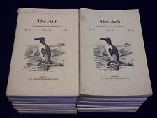 1960-1970 THE AUK A QUARTERLY JOURNAL OF ORNITHOLOGY LOT OF 33 - O 2133A