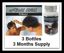 3x Anti Ageing Gray Hair Pills Catalase Restores Cover Your Natural Colour Scalp