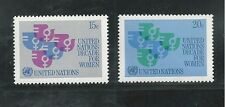 UNITED NATIONS, NEW YORK # 318-319 1980 DECADE FOR WOMEN