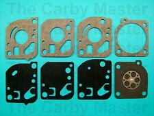 ZAMA Replacement GND-18 Gasket and Diaphragm Kit fits Ryobi Grass Scorpion, more