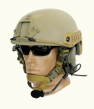 Ballistic IIIA Bullet Proof Helmet Fast High Cut + DISK, Coyote (without cover)
