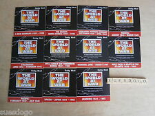 THE WORLD AT WAR - 11 PROMO DVDS IN EXCELLENT UNPLAYED CONDITION