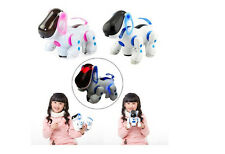 Remote Control I Robot Dog Cat Walking Nodding Toy Pet Puppy Electronic Light SG