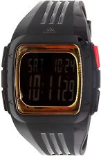 Adidas Men's Duramo ADP6135 Black Rubber Quartz Watch