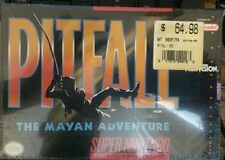 Pitfall: The Mayan Adventure FACTORY SEALED (SNES, 1994)