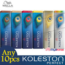 Any 10pcs - Wella Koleston Perfect Permanent Hair Color Dye 60g