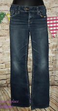 SILVER JEANS TUESDAY Light Distress Embroid Pocket JEANS size 29 ???