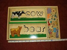 Melissa and Doug See and Spell **Collector Item: Manufacturer's Defect**