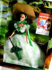NIB BARBIE DOLL 1994 HOLLYWOOD LEGENDS COLLECTION SCARLETT O'HARA IN GREEN WHITE