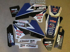 TEAM  JGR  GRAPHICS YAMAHA YZ250F YZ400F YZ426F YZF 1998 2000 2001 2002