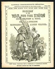 War for the Union #11 Issue Civil War with Capture of Fort Donelson ENGRAVING