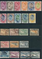 1952-1957 Thailand (45) ALL DIFFERENT; MH & USED; AS SHOWN; CV $90+
