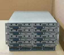Cisco UCS5108 + 8x B200 M3 Blade Servers 16x EIGHT-CORE 2.60GHz 3072GB RAM