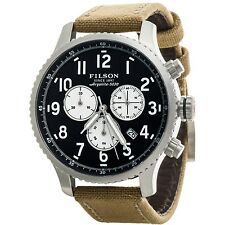 NEW Shinola - Filson Mackinaw Field Chronograph Watch - 43mm - Mens - NIB - $850