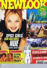 NEWLOOK N° 162 03/97 Spice Girls Geri Halliwell nue