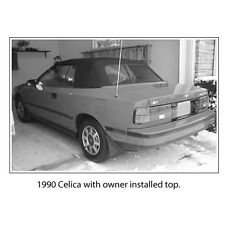 TOYOTA CELICA DO-IT-YOURSELF  CONVERTIBLE TOP PACKAGE 1987-1990