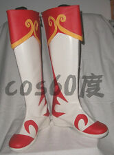 Dynasty Warriors Xiao Qiao Rubber Cosplay Halloween Christmas festival shoes S00