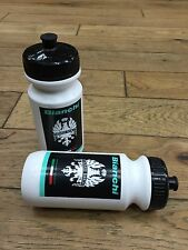 RARE - NEW Bianchi Water Bottle Set - (1) Pair - White - SM