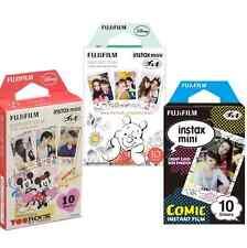 Fujifilm Instax Mini 8 30 Full Color Fuji Camera Film Comic - Mickey - Winnie