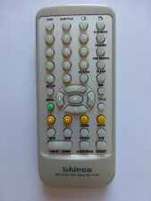 SHINCO PORTABLE DVD PLAYER REMOTE CONTROL RC-1730 for SDP1731 SDP1731A