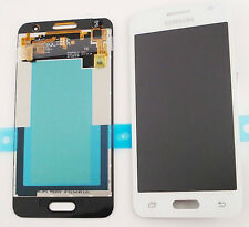 DISPLAY LCD+VETRO ORIGINALE per SAMSUNG GALAXY CORE 2 SM-G355 G355H BIANCO WHITE