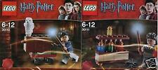 2x LEGO Harry Potter 30110 Trolley + Eule 30111 Labor Promo Pack selten NEU&OVP