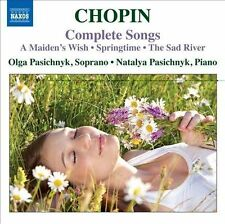 Chopin Complete Songs A Maiden's Wish / Springtime / The Sad River)