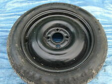 SPACE SAVER SPARE WHEEL WITH PIRELLI 125/80/15  From FORD FOCUS MK1 1.4 5 DOOR