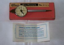Vintage COMPASS Map Measure No.2090 OPISOMETER, COMPASS & PENCIL Western Germany