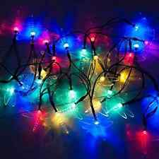 30 Multi-colour LED Dragonfly Solar Powered Fairy Lights by SPV Lights: The Sola
