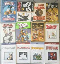 Lotto Stock 13 Libri Fumetti Mondadori Uomo Ragno Disney Diabolik X-man Marvel