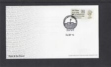 GB 2016  Post & Go PM Machin Head King Edward VIII single 1st class RM FDC SW pk