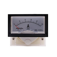 DC 0-10A Analog Panel AMP Current Meter Ammeter Gauge 85C17