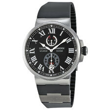 Ulysse Nardin Mens Marine Chronometer Automatic Swiss Made Watch 1183-122-3/42V2