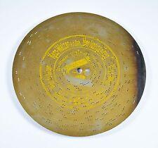 "KUSS WALZER Symphonion Spieluhr Blechplatte D 21 music box automaton disc 8 1/4"""