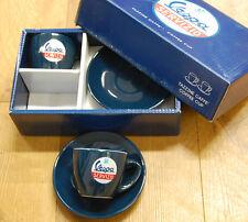 Genuine Piaggio Vespa Servizio Espresso Coffee Cup & Saucer Set of 2 - Brand New